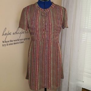 Vintage 1990s micro pleated babydoll dress